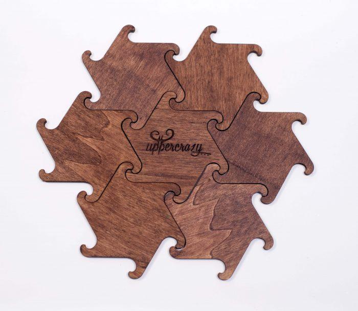 coaster puzzle, coastere personalizate, cadouri, gift, lemn