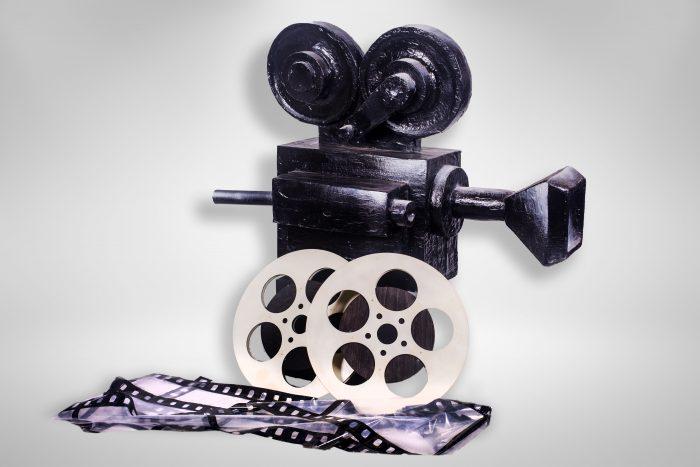 Camera filmat retro, inchiriere decor petrecere tematica, Oscar