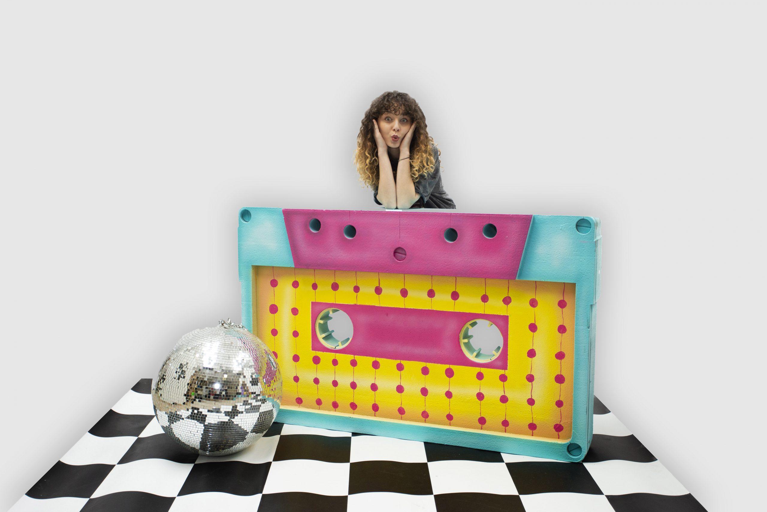 inchiriere decor caseta anii 80, disco
