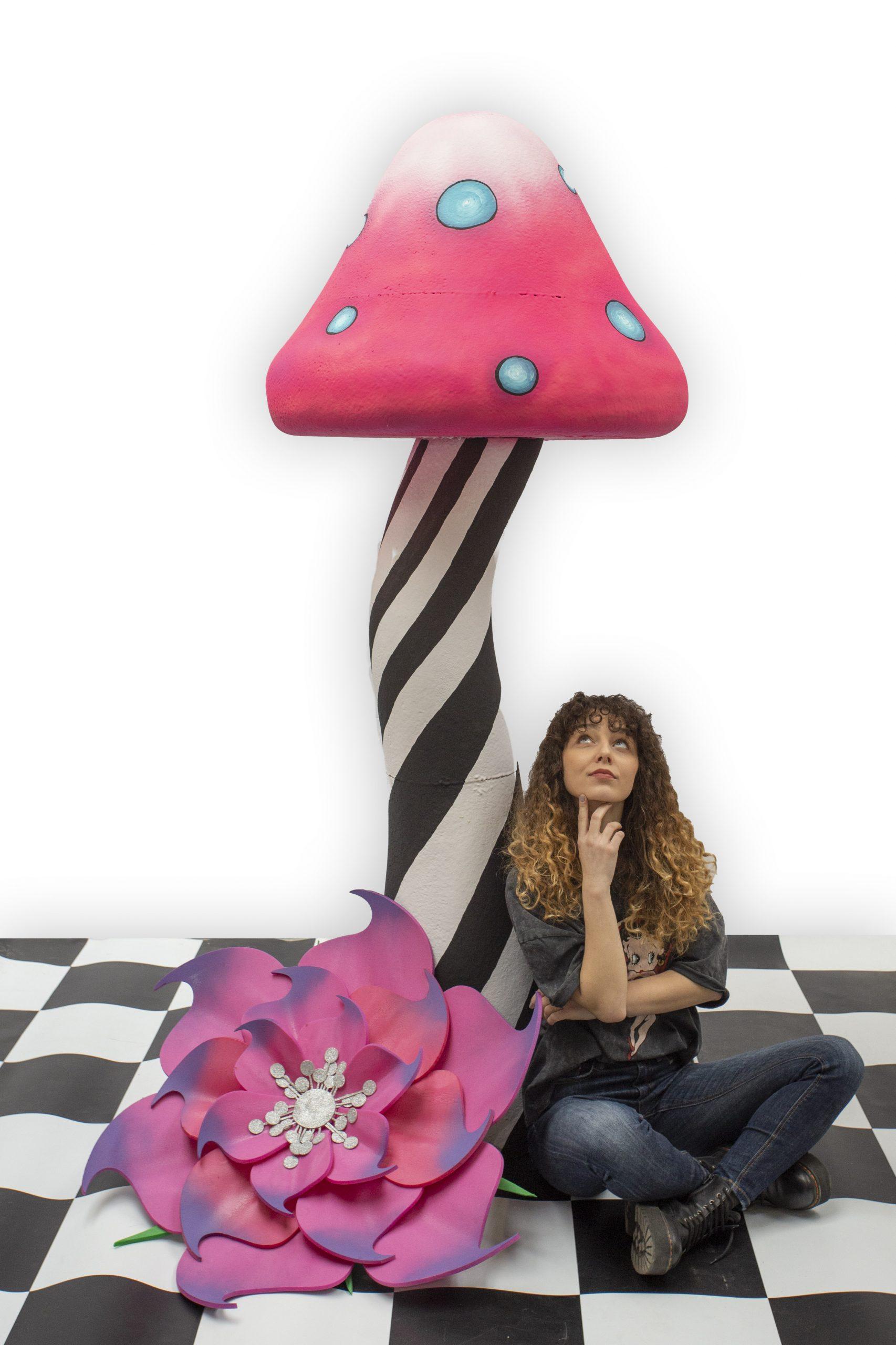 inchiriere decor ciuperca Alice in Tara Minunilor