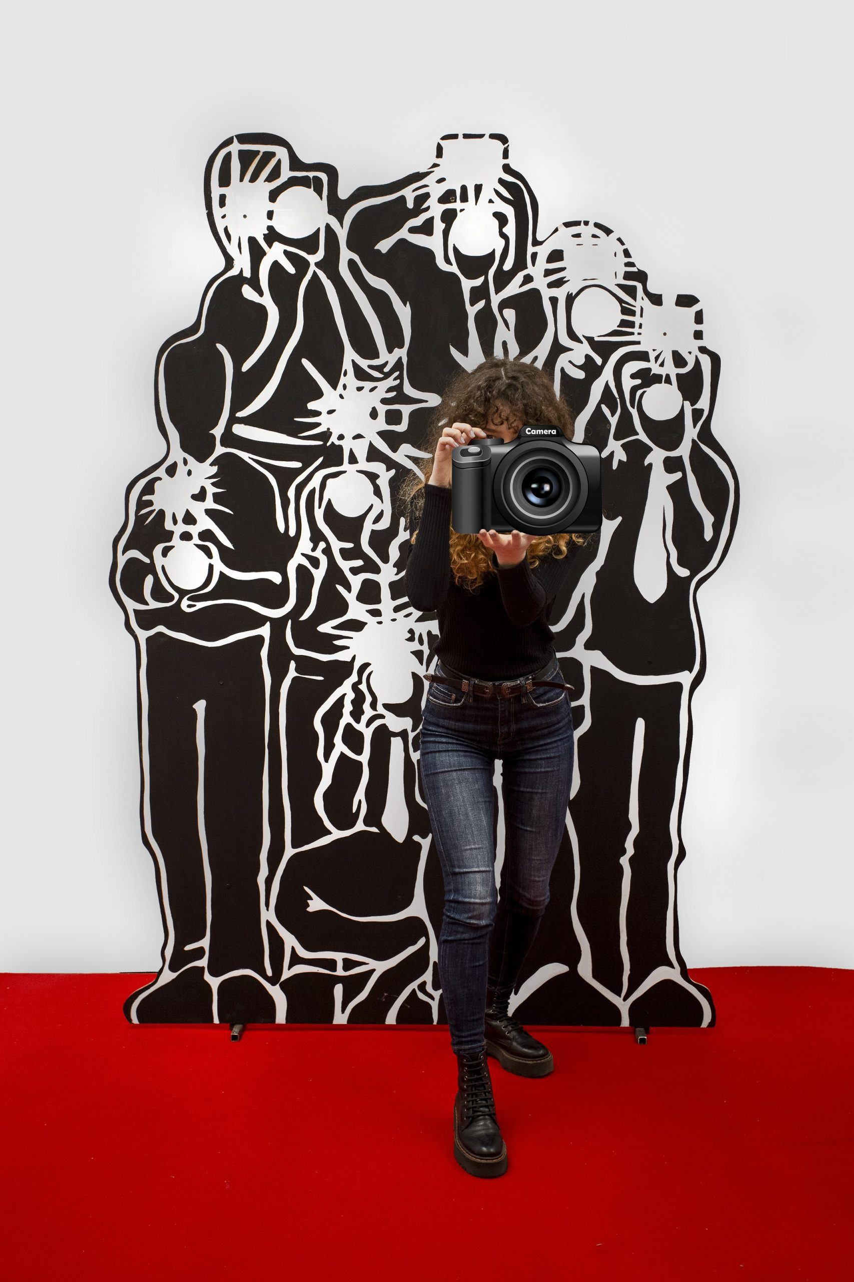 Panou Paparazzi, Inchirere decor Cinema, Oscar, Film