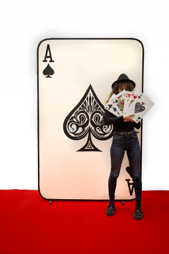 Carte Joc Gigant, inchiriere decor casino