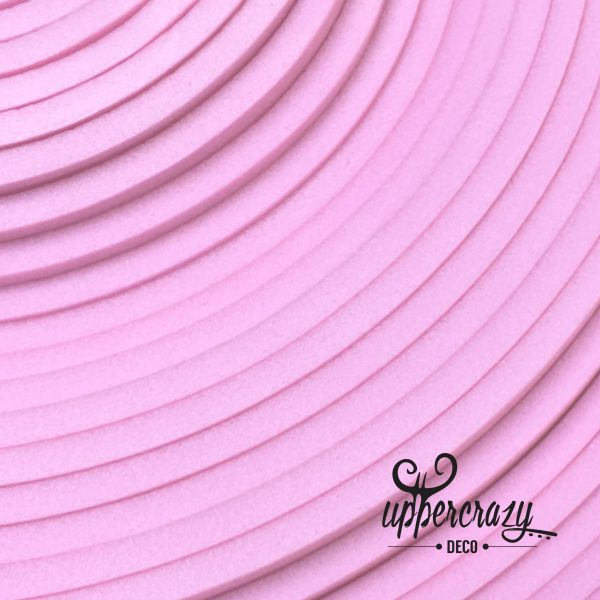 Eva Foam colorata roz, materiale craft