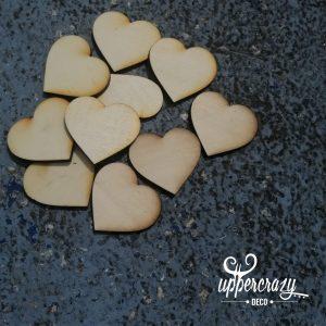 inima lemn decorativa, accesorii hobby bricolaj