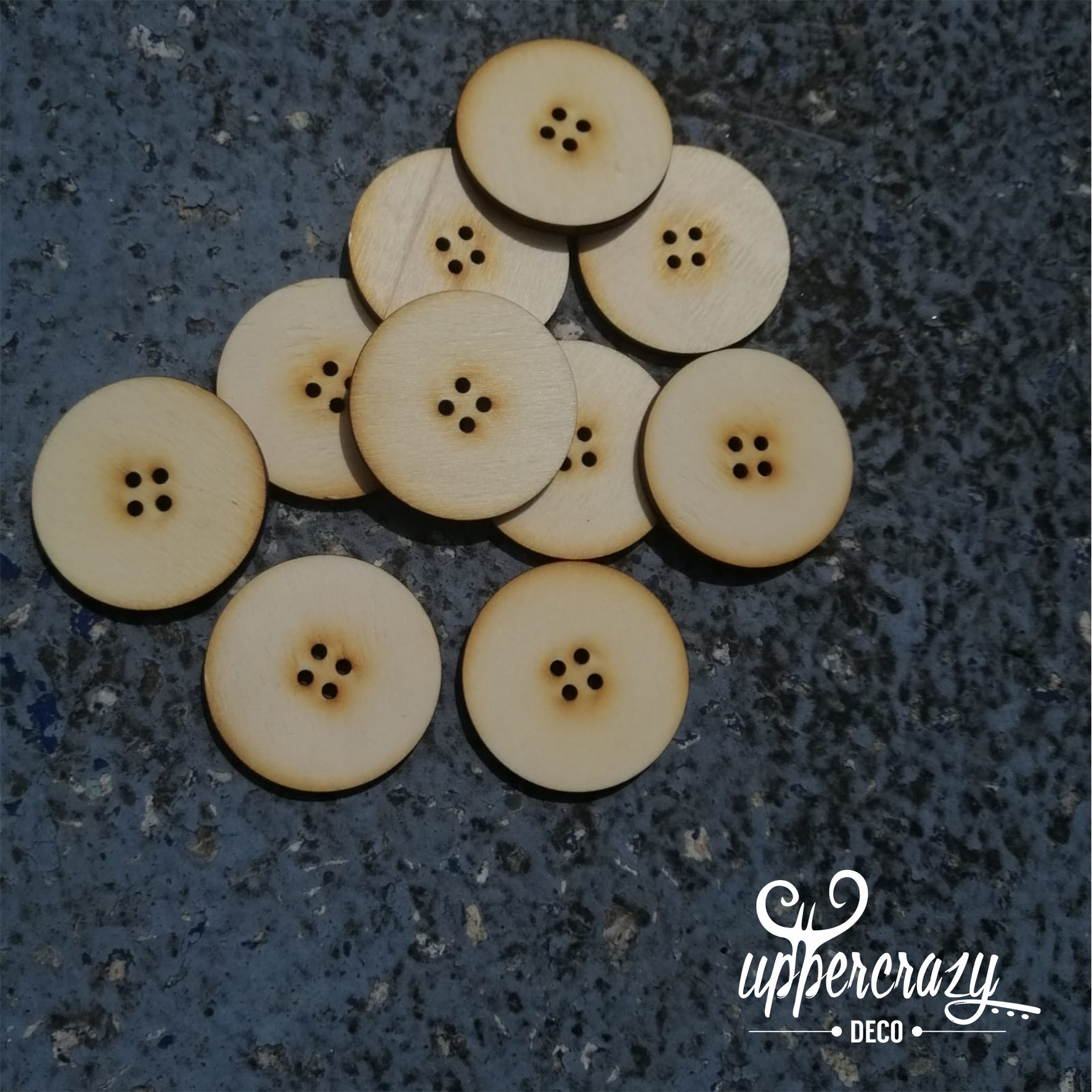 Nasturi lemn accesorii bricolaj