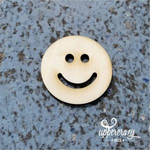 Figurina lemn smiley, articole bricolaj handmade