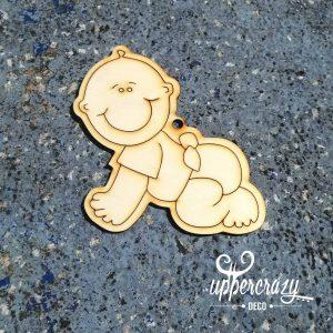 Figurina lemn bebe