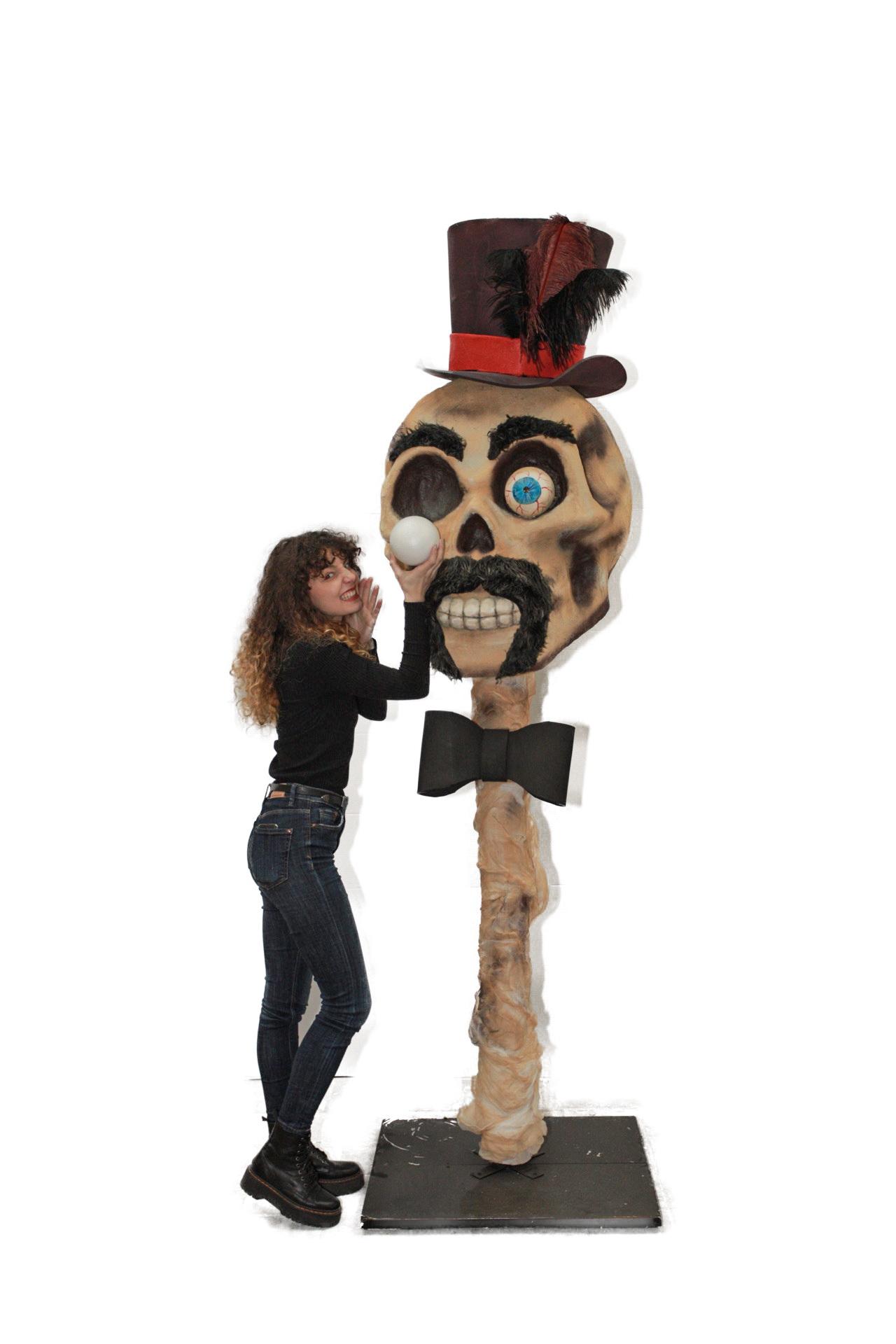decor craniu Halloween